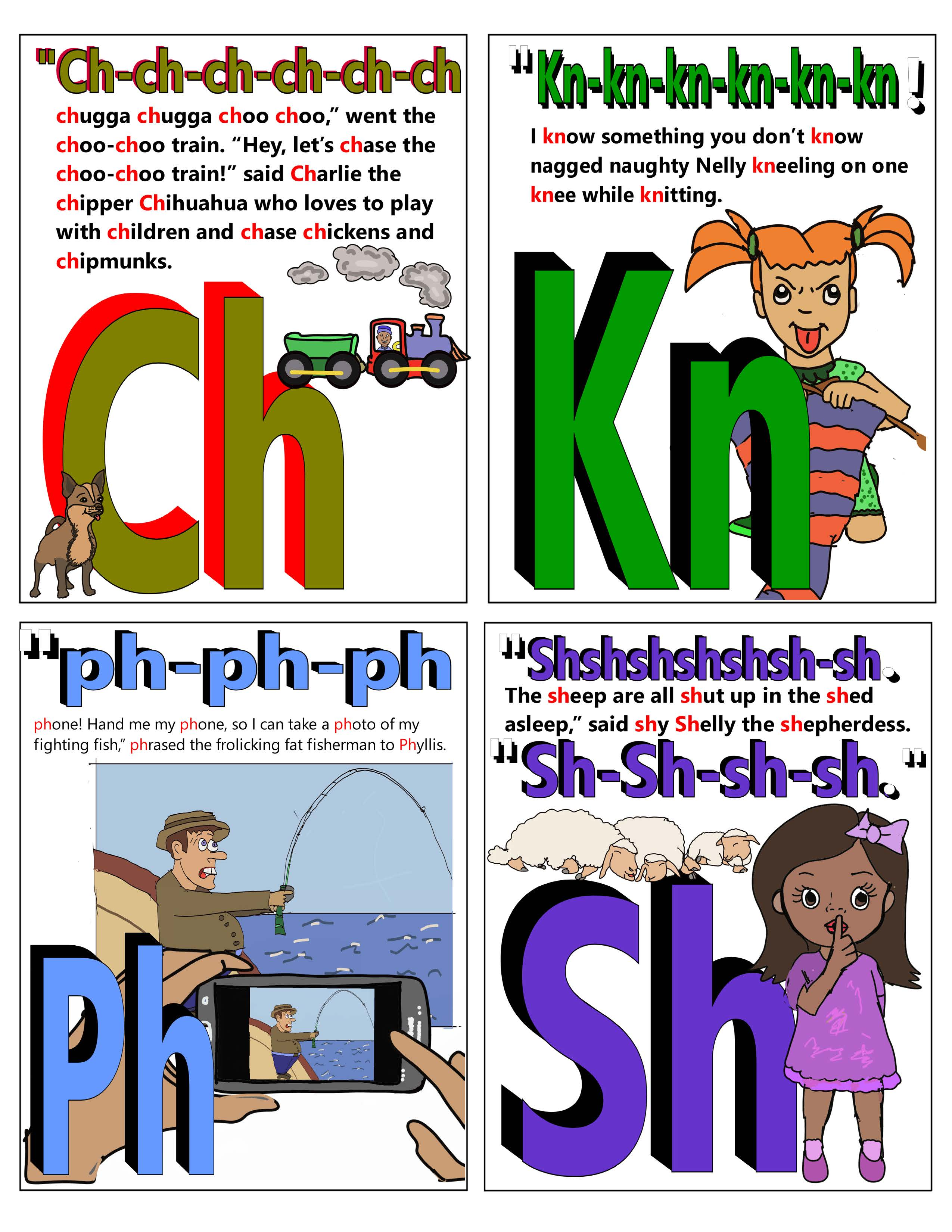 Sounds of the Alphabet flash cards